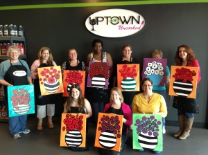 LRW at Uptown Art Uncorked